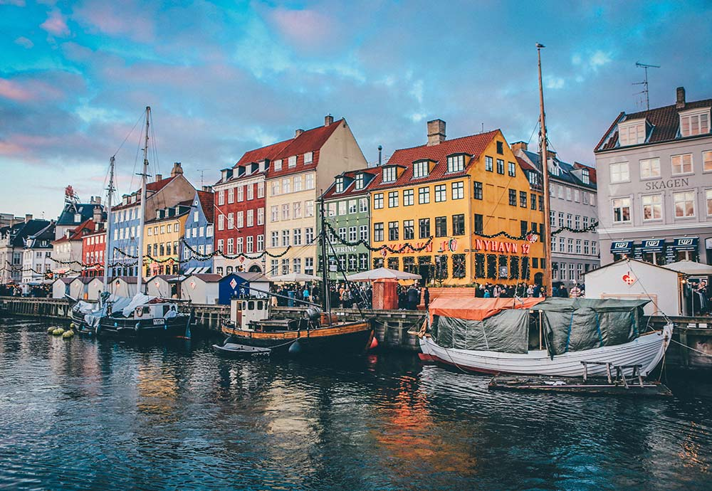 Denmark ranks No. 2 on the list of the world's happiest countries