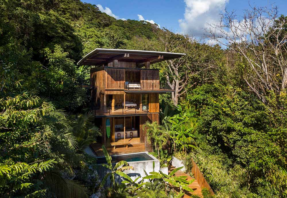 An example of organic architecture in Costa Rica